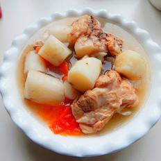 西红柿山药大骨汤