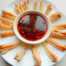 下酒菜-酱汁鸡三角骨