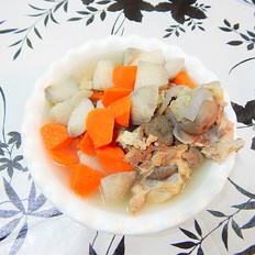 山药胡萝卜骨头汤