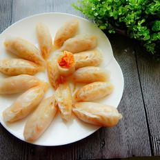 胡萝卜粉条水晶饺