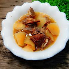 白萝卜牛骨汤