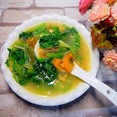 皮蛋生菜汤