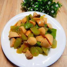 耗油莴笋杏鲍菇