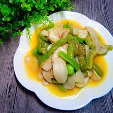 丝瓜烧杏鲍菇