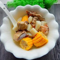 山药玉米鸡汤