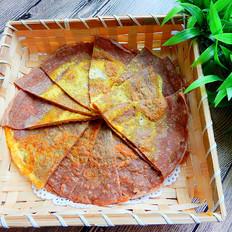 黑麦面包菜煎饼