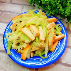 花菜炒豆腐