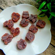 薄荷味红豆卡能冰块