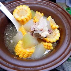 冬瓜玉米大骨汤