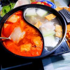 鱼片鸳鸯火锅