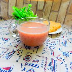 红米玉米渣米糊