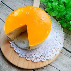 沙棘汁慕斯蛋糕