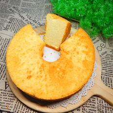 芒果酱中空蛋糕