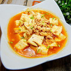 罗勒番茄肉末豆腐