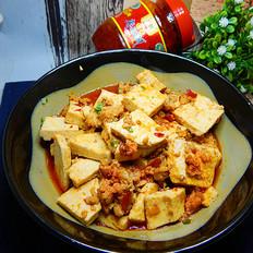 豆瓣酱肉末烧豆腐