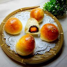 豆沙蛋黄面包