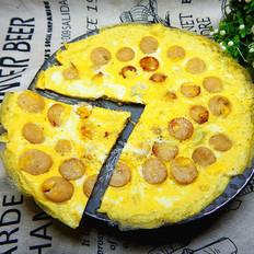 鸡蛋煎香肠