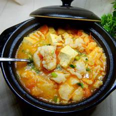 番茄豆腐鱼片汤