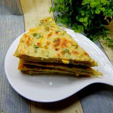 玉米粒煎饼
