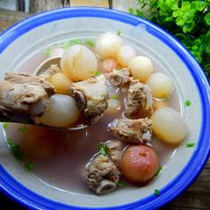 茯苓水萝卜排骨汤