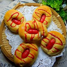 番茄肠仔面包