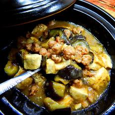 砂锅香肠茄子煲