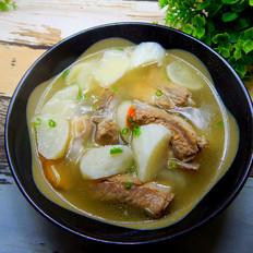 枸杞白萝卜肋排汤