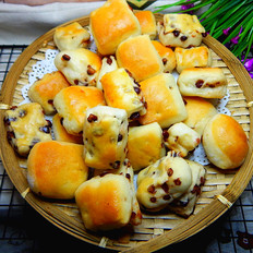 蜜豆手抓面包