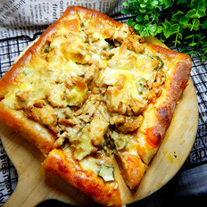 秋葵鸡肉披萨