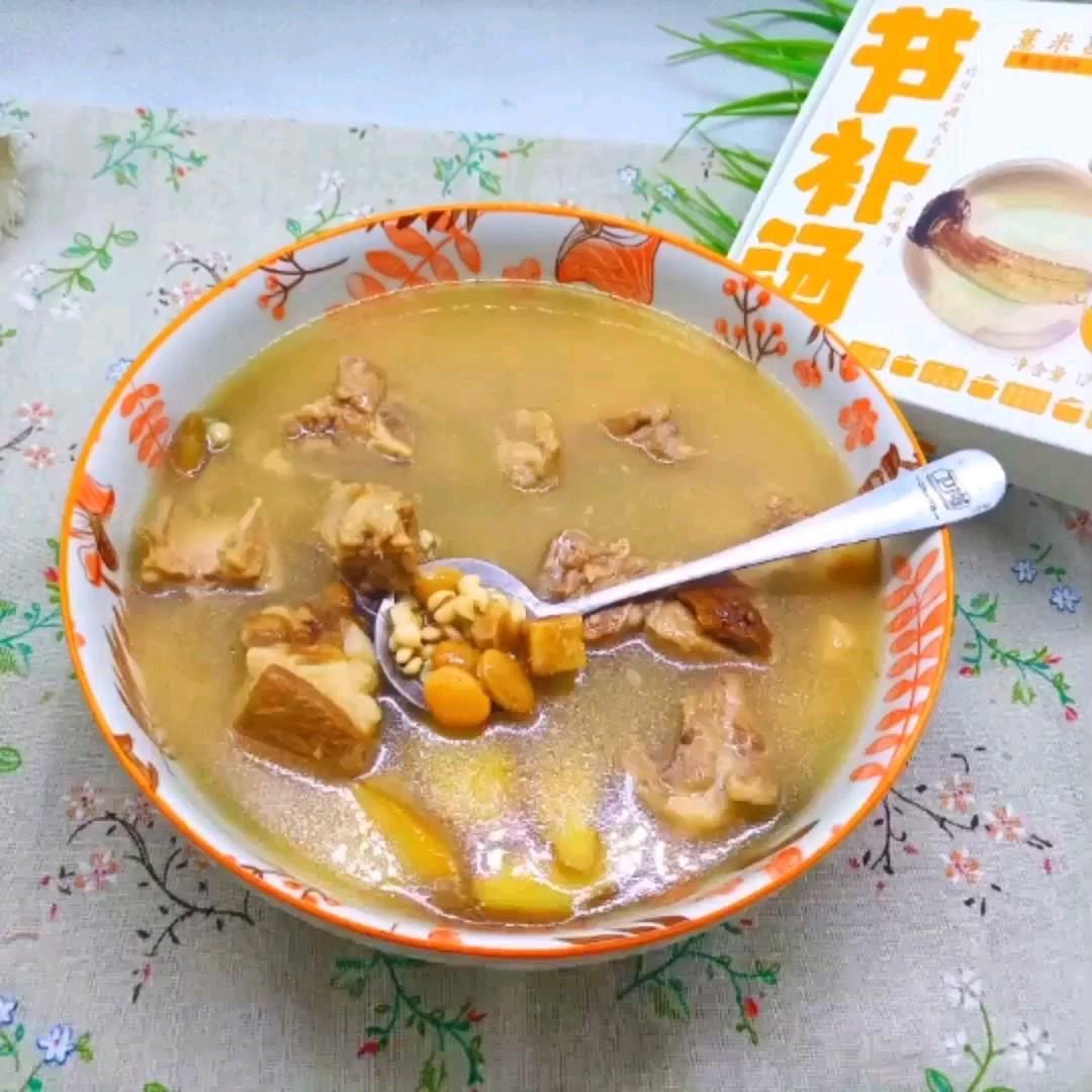 滋补排骨汤的做法