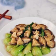 香菇燒青菜