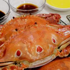 来自秋季的自然馈赠--原汁原味清蒸大花蟹