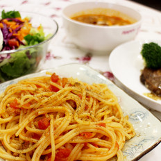 异域风味、番茄肉酱意粉--威厨艺