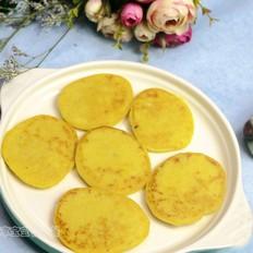 南瓜莲子薏米牛奶饼