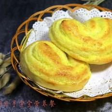 心形椰蓉面包