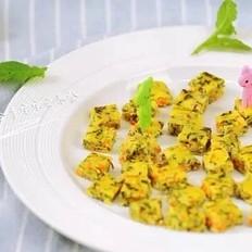 宝宝辅食—三文鱼蔬菜丁