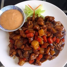 黑椒分米鸡