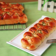 香葱酸奶辫子面包