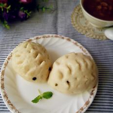 京津刺猬豆沙包的做法