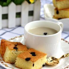 蓝莓糯米方蛋糕