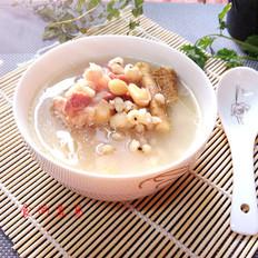 野苋菜头薏米猪骨汤