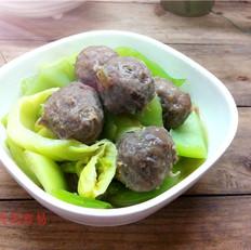 牛筋丸炖芥菜头