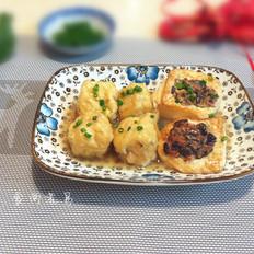 鸳鸯酿豆腐