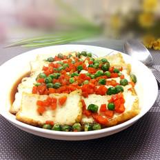 微波炉豌豆烩豆腐
