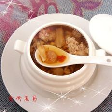 花旗参瘦肉汤