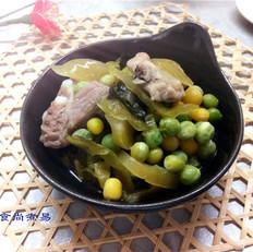 咸菜豌豆焖排骨
