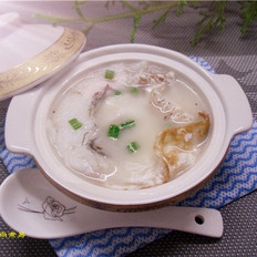九肚鱼鸡蛋汤