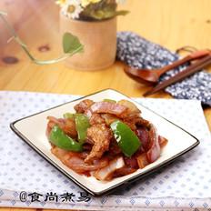 五花肉炒圆椒洋葱