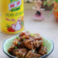 广东豉汁蒸排骨