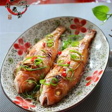 香烤金线鱼